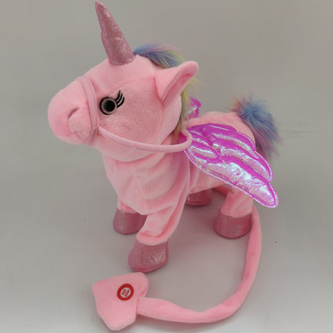 Image of Walking Unicorn Plush Toy