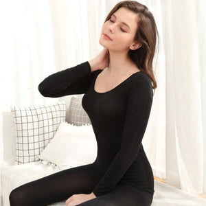 Seamless Thermal Underwear Set