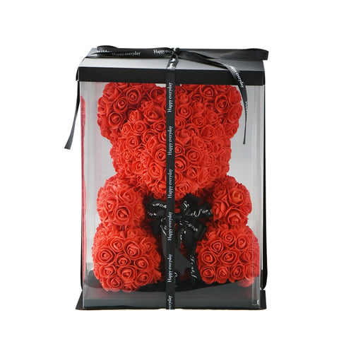Image of Valentines Day Romantic Teddy Bear Rose