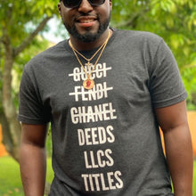 Load image into Gallery viewer, Deeds. LLCs. Titles. T-Shirt