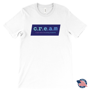 C.R.E.A.M - Crypto Rules Everything T-Shirt