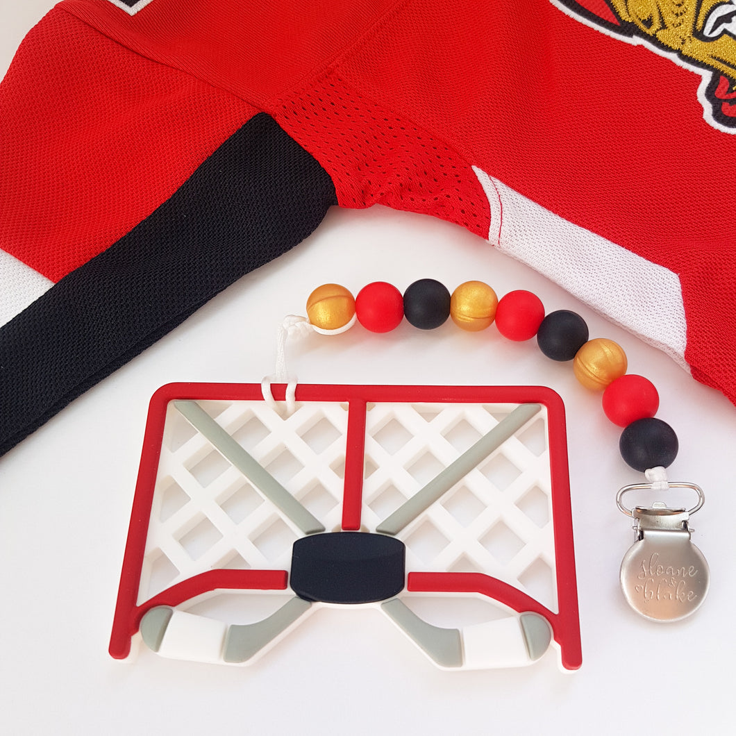 OTTAWA Hockey Teether Clip