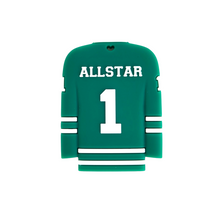 Load image into Gallery viewer, HOCKEY JERSEY Teether - Green