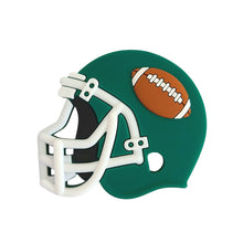 Load image into Gallery viewer, FOOTBALL HELMET Teether - Green