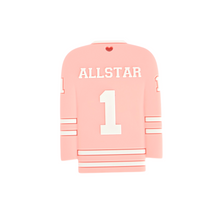 Load image into Gallery viewer, HOCKEY JERSEY Teether - Pink