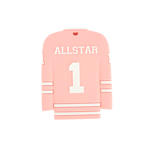 HOCKEY JERSEY Teether - Pink