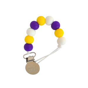 MINNESOTA Football Pacifier Clip