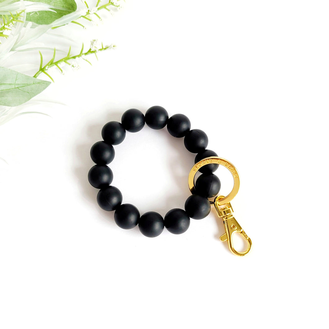 MIDNIGHT Bracelet Key Ring