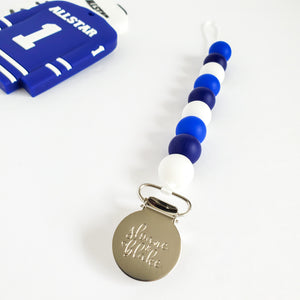 WINNIPEG Hockey Pacifier Clip