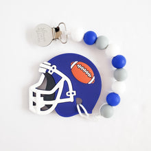 Load image into Gallery viewer, DETROIT Football Teether Clip