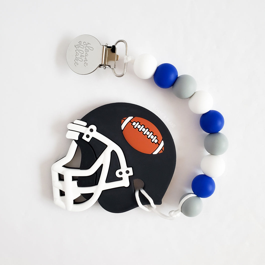 DETROIT Football Teether Clip