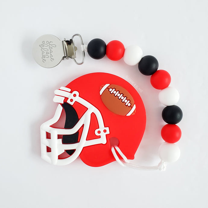 CALGARY Football Teether Clip