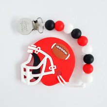 Load image into Gallery viewer, Football Helmet Teether Clip