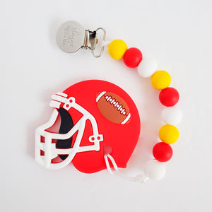 KANSAS CITY Football Teether Clip