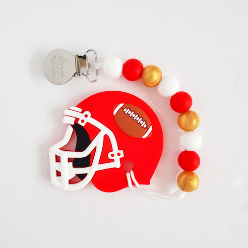 SAN FRANCISCO Football Teether Clip
