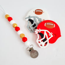 Load image into Gallery viewer, SAN FRANCISCO Football Teether Clip