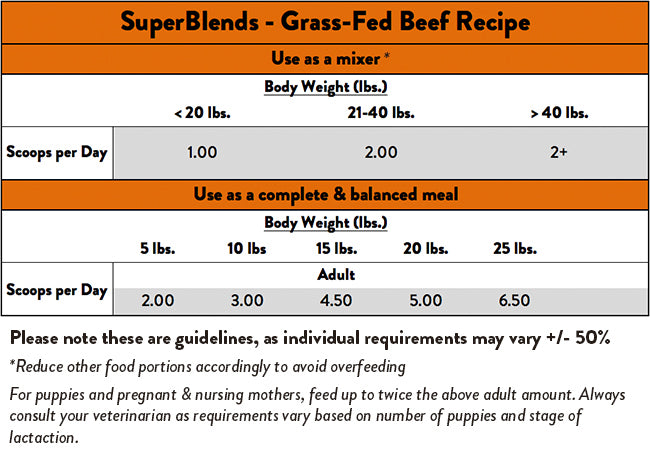 Stella & Chewy's SuperBlends Grass-Fed Beef