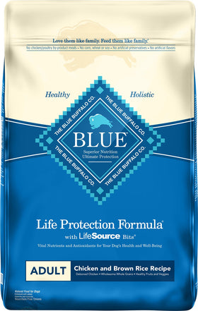 Blue Buffalo - Life Protection Formula - Chicken & Brown Rice Recipe (Adult Dry Dog Food)