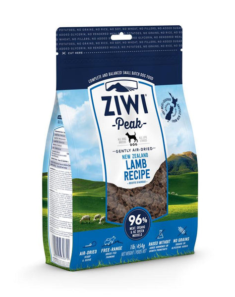 ZiwiPeak - Air-Dried Lamb For Dogs - ARMOR THE POOCH