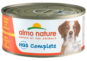 Almo Nature - HQS Complete Chicken Dinner with Pumpkin (Wet Dog Food)