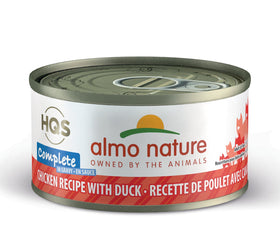 Almo Nature - HQS Complete Chicken Recipe with Duck in Gravy (Wet Cat Food)