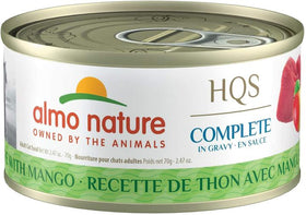 Almo Nature - HQS Complete Tuna Recipe with Mango in Gravy (Wet Cat Food)