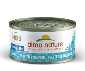 Almo Nature - HQS Complete Tuna Recipe with Pumpkin in Gravy (Wet Cat Food)