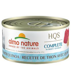 Almo Nature - HQS Complete Tuna Recipe with Quinoa in Gravy (Wet Cat Food)