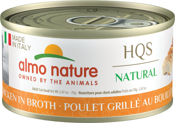 Almo Nature - HQS Made in Italy Grilled Chicken in Broth (Wet Cat Food)
