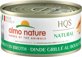 Almo Nature - HQS Made in Italy Grilled Turkey in Broth (Wet Cat Food)