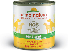 Almo Nature - HQS Natural Chicken Fillet Entree (For Dogs)