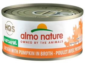 Almo Nature - HQS Natural Chicken with Pumpkin in Broth (Wet Cat Food)
