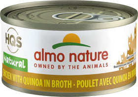 Almo Nature - HQS Natural Chicken with Quinoa in Broth (Wet Cat Food)