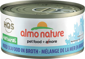 Almo Nature - HQS Natural Mixed Seafood in Broth (Wet Cat Food)
