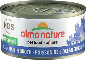 Almo Nature - HQS Natural Ocean Fish in Broth (Wet Cat Food)