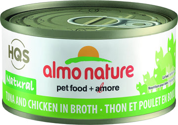 Almo Nature - HQS Natural Tuna and Chicken in Broth (Wet Cat Food)