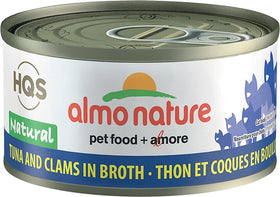 Almo Nature - HQS Natural Tuna and Clams in Broth (Wet Cat Food)
