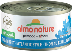 Almo Nature - HQS Natural Tuna in Broth Atlantic Style (Wet Cat Food)