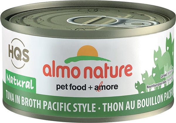 Almo Nature - HQS Natural Tuna in Broth Pacific Style (Wet Cat Food)