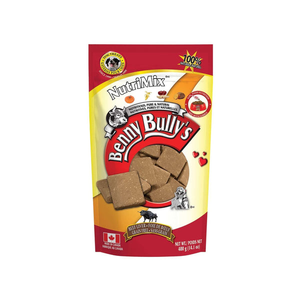 Benny Bully's - Liver NutriMix - ARMOR THE POOCH