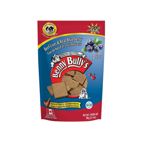 Benny Bully's - Liver Plus - Blueberry - ARMOR THE POOCH