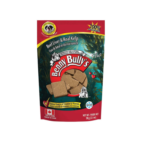 Benny Bully's - Liver Plus - Kelp - ARMOR THE POOCH