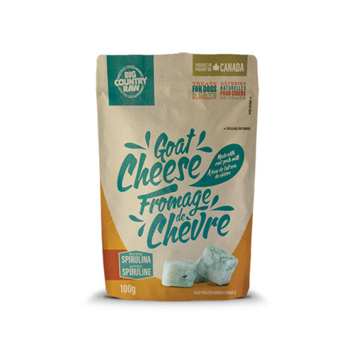 Big Country Raw - Goat Cheese Treats (100g) - Frozen Product