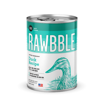 Bixbi Rawbble - Canned Wet Food - Duck Recipe