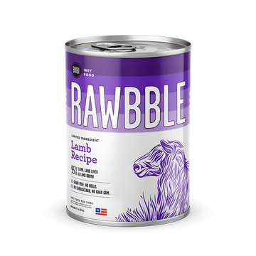 Bixbi Rawbble - Canned Wet Food - Lamb Recipe