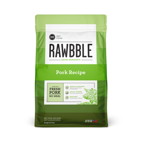 Bixbi Rawbble - Dry Food - Pork Recipe - ARMOR THE POOCH™