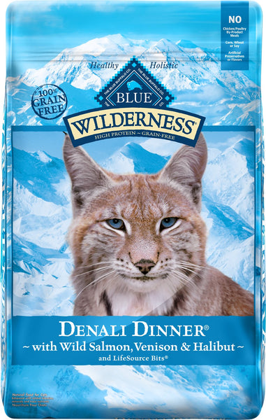 Blue Buffalo - Blue Wilderness - Denali Dinner Recipe (Adult Dry Cat Food)
