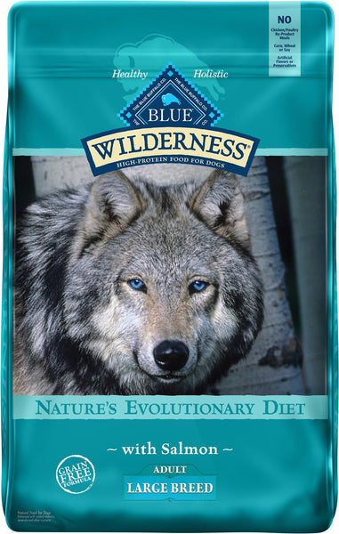Blue Buffalo - Blue Wilderness - Large Breed Salmon Recipe Grain-Free (Adult Dry Dog Food)