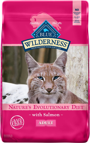 Blue Buffalo - Blue Wilderness - Salmon Recipe (Adult Dry Cat Food)