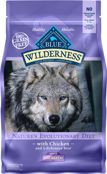 Blue Buffalo - Blue Wilderness - Toy Breed Chicken Recipe Grain-Free (Adult Dry Dog Food)